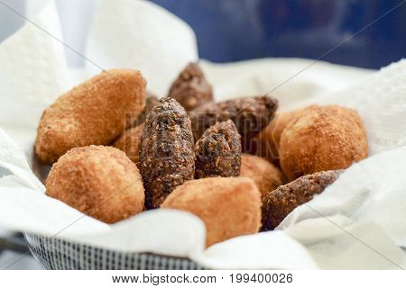 Deep Fried Brazilian Croquettes