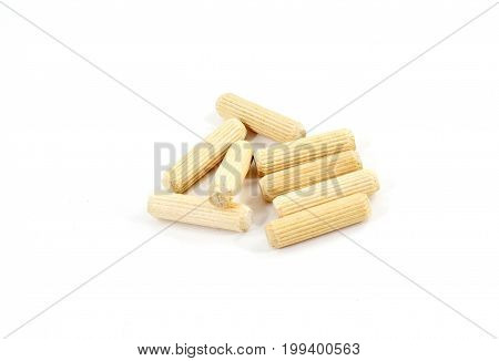 Grooved Wooden Construction Pegs