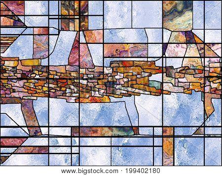 Conceptual Leaded Glass