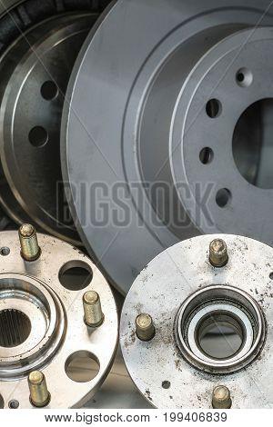 Component of car brake gear