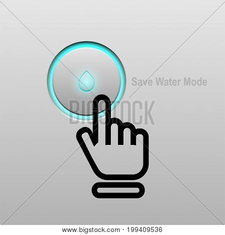 world water day. Save water concept. vector illustration.