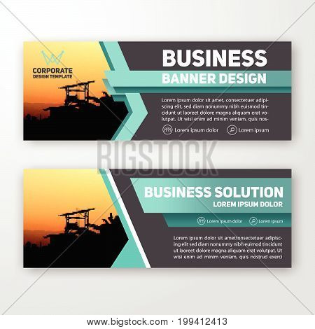 Modern Corporate Banner Background