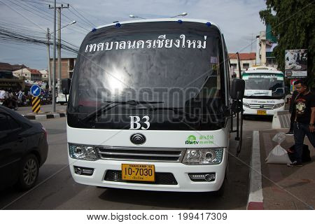Yutong Mini Bus. New Bus Of Chiangmai City Bus