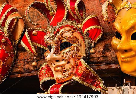 Traditional Carnival Venice Mask