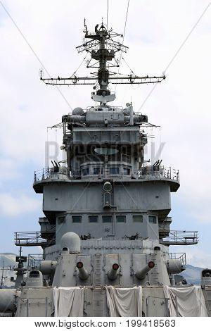 View Of Artillery Cruiser