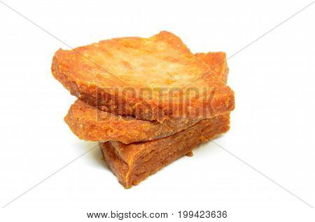 Pan Fried Slices Of Luncheon Meat