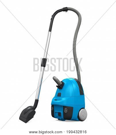 Vacuum Cleaner isolated on white background. 3D render