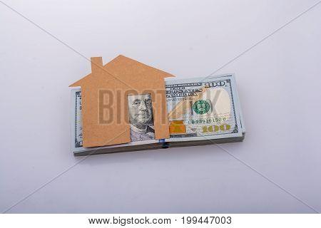 Banknote Bundle Of Us Dollar