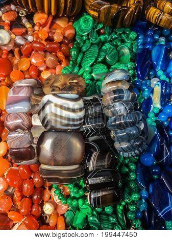 Decorations From Semi Precious Stones