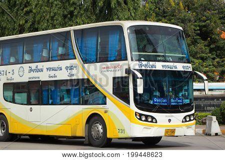Phetprasert Tour Company. Bus For Route Ubon Ratchathani And Chiangmai.