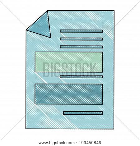 Documents sheets isolated icon vector illustration graphic design