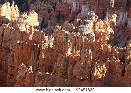 Bryce Canyon National Park in Utah. USA