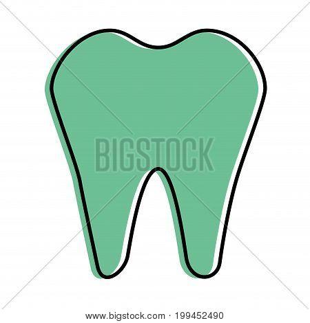 Dental care symbol icon vector illustration graphic design