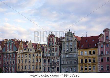 Colorful Buildings Of Wroclaw