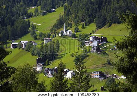 Typical Italian Village
