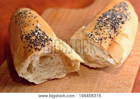 White Bread Roll