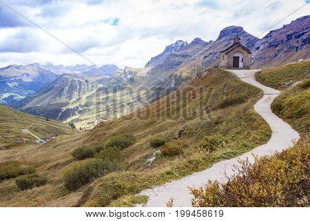 Little Church On The Passo Pordoi