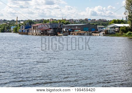Industrial Area On The River