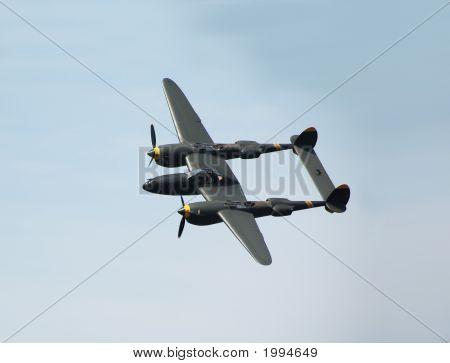 Vintage P-38 Aircraft