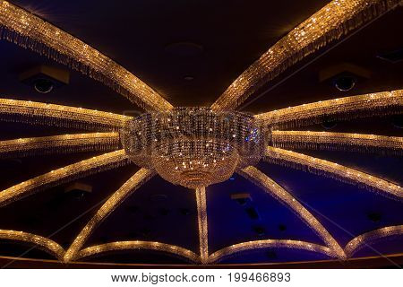 Las Vegas, Nv - June 13, 2017: Caesars Palace Hotel Interior