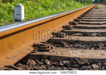 The Railroad Goes Into The Distance, Transportation