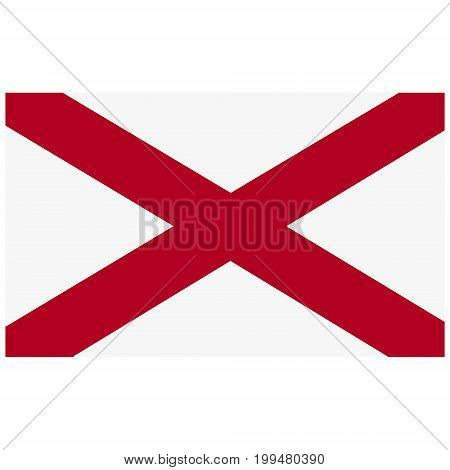 Alabama Flag Icon