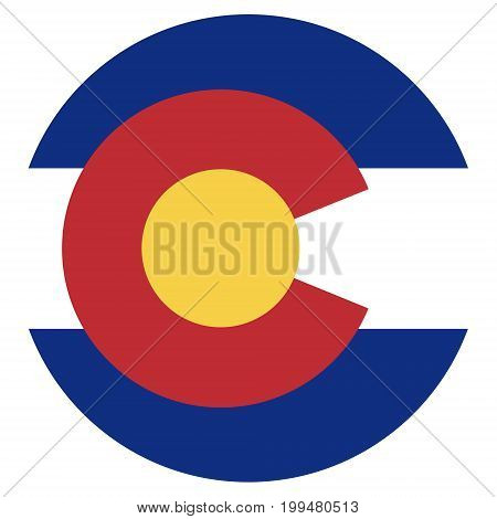 Colorado Flag Vector