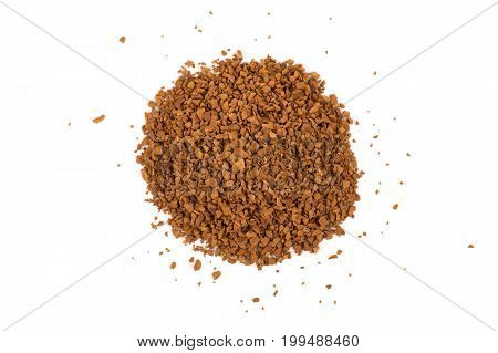 Pile Of Instant Coffee Grains