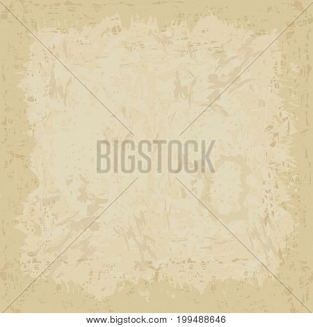 vintage grunge background texture white center brown paper bag style or old parchment for brochure brown vector background