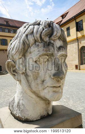Head Of Roman Emperor Augustus