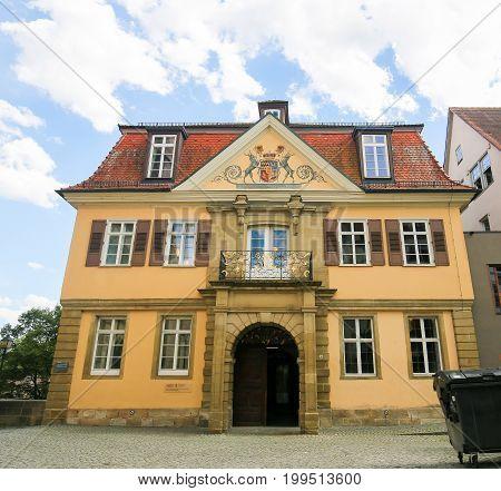 Alte Aula In Tubingen, Baden-wurttemberg, Germany