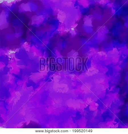 Violet Watercolor Texture Background. Classy Abstract Violet Watercolor Texture Pattern. Expressive