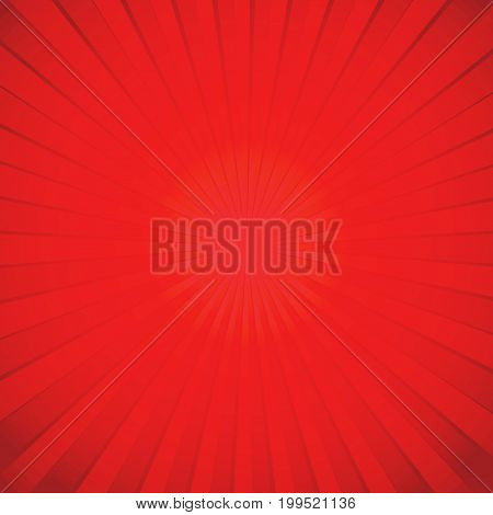 Sun burst rays background design for poster cover brochure flyer greeting card template. Vector illustration.