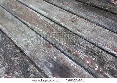 Eroded gray vintage grunge wooden board texture 4