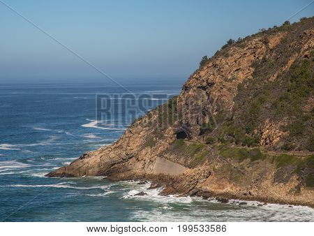 Landscape Of The Plettenber Bay On The Western Cape