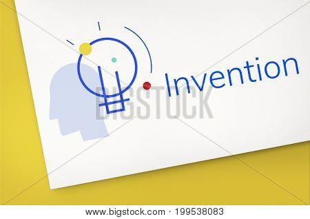 Creative Innovation Inspiration Light Bulb Graphic Word