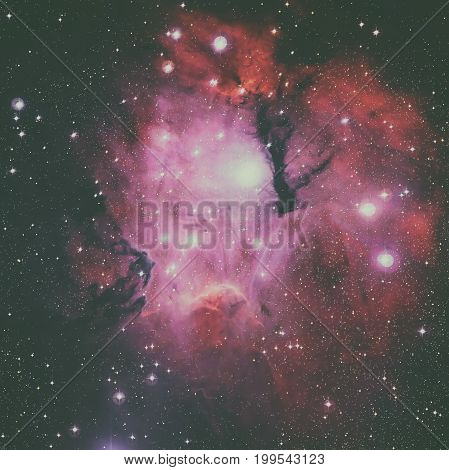 Gum 15 Is A Nebula Located In The Constellation Of Vela.