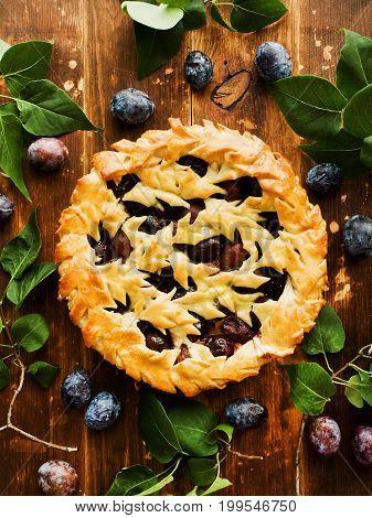 Sweet Plum Pie