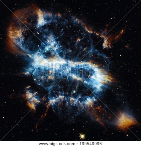 Spiral Planetary Nebula In The Constellation Musca.