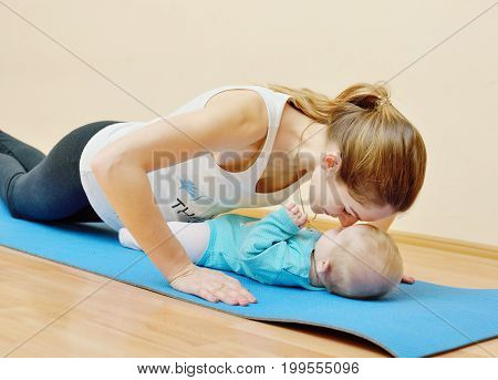 Exercises Together With Baby