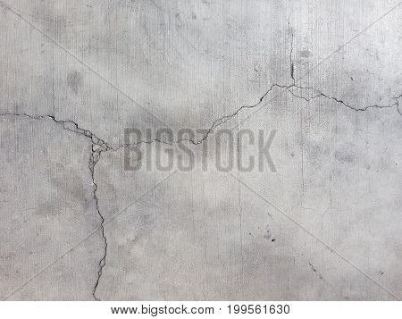 View on cracks in Marble. Close-up of cracks in grey Marble Stone. Natural Stone Background