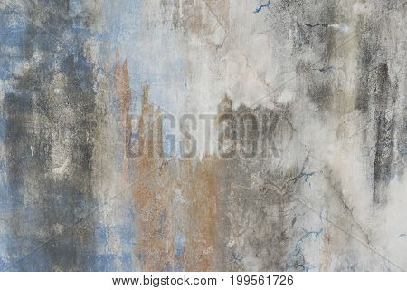 Old Dirty Cement Wall Background.