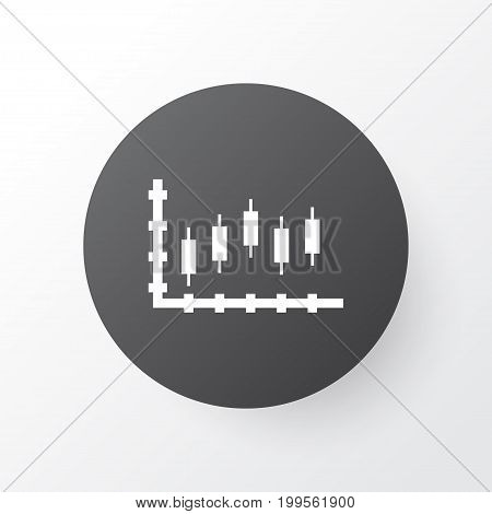 Premium Quality Isolated Stock Element In Trendy Style.  Progress Icon Symbol.