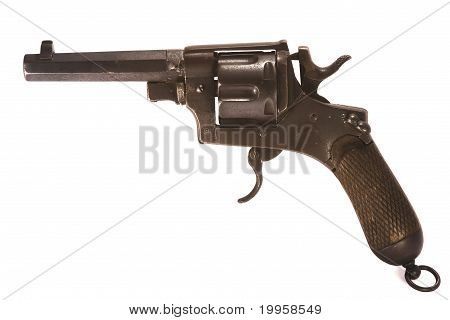 1918 Italian Revolver and Ammunition
