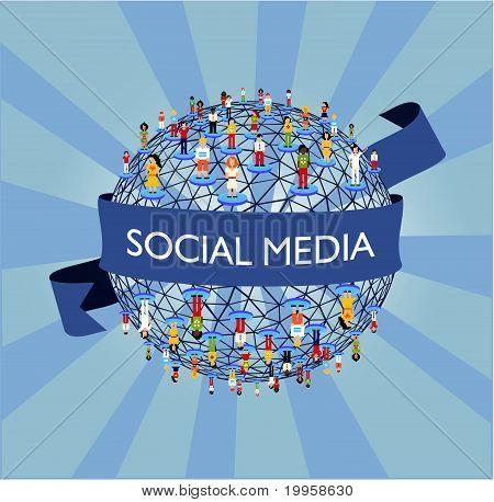 世界社会媒体网络
