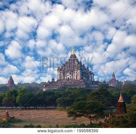 Thatbyinnyu Temple In Bagan Archaeological Zone, Myanmar