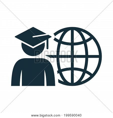 World Graduating Cap Student Globe