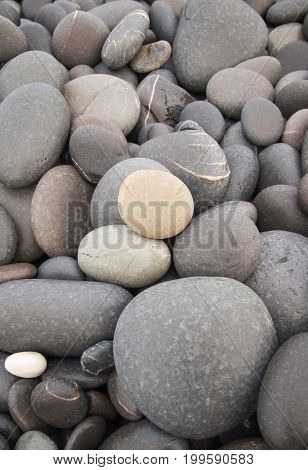 Gravel texture. Gravel background