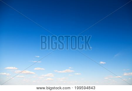 blue sky with cloud. light blue summer sky with light white clouds