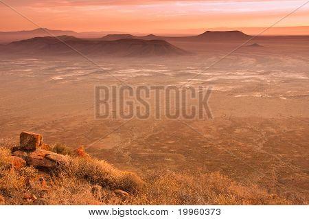 Karoo Desert Sunset
